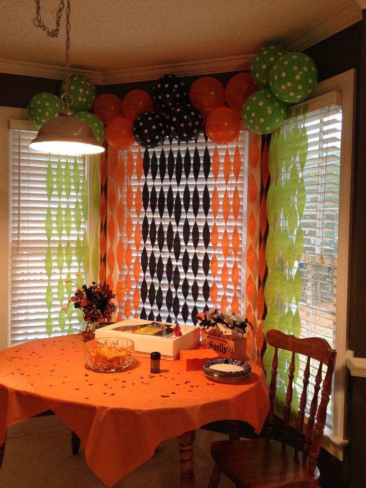 Decoraci n para fiesta de halloween mam y maestra for Decoracion fiesta halloween