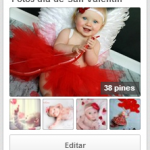 Recuerdos de amor: Ideas para fotos de bebés 14 de febrero