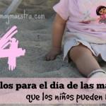 Regalos para el día de las madres que los niños pueden hacer